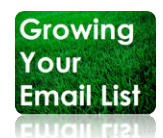 Growing your email list