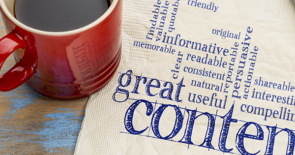 Success of a great blog relies on the value of the content