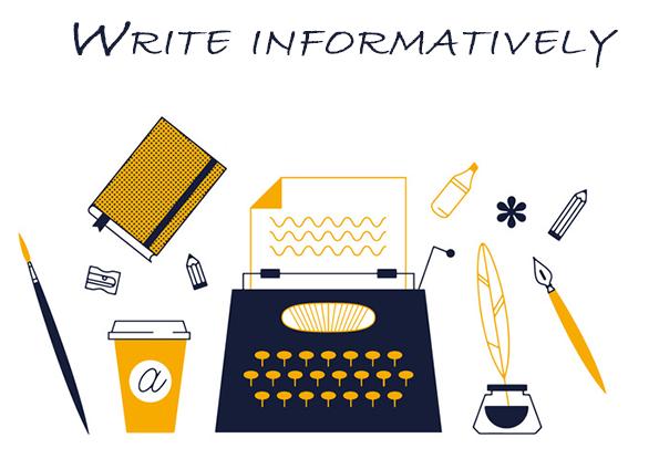 Write Informatively