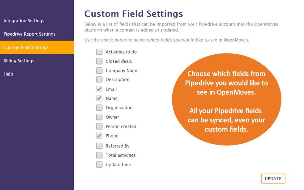 Pipedrive Custom Fields