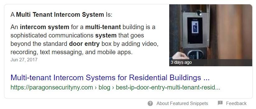 Multi Tenant Intercom
